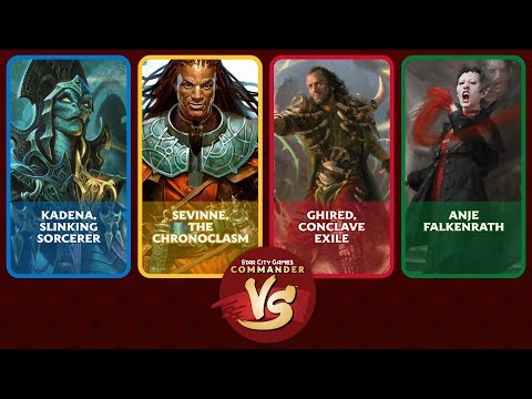 Commander VS S16E8: Kadena VS Sevinne VS Ghired VS Anje [EDH]