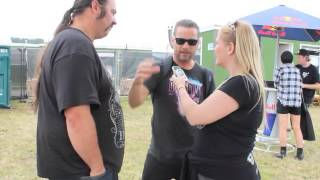 Richards/Crane interview with TotalRock @Download 2014