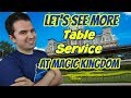 We need more Table Service Resturants at the Magic Kingdom