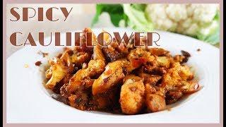 Stir fried spicy cauliflower authentic sichuan/ szechuan food recipe #26 乾鍋花菜