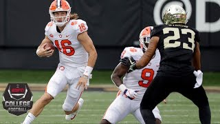 Trevor Lawrence, Clemson drop 63 on Wake Forest | CFB Highlights