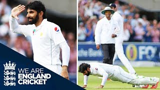 One Of The Great Century Celebrations: Misbah's Press Ups At Lord's | England v Pakistan 2016