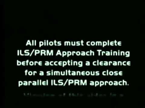 ILS Approach - Precision Runway Monitor