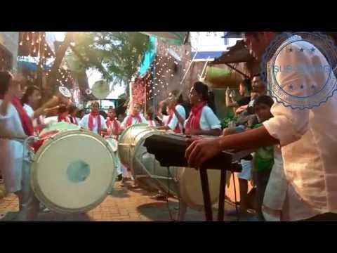 ZINGAT SONG PERFORM ON PUNERI DHOL WITH CASIO BY SUR-SWARG MAHILA PUNERI DHOL-TASHA PATHAK
