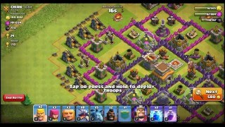 Clash of Clans online live Gameplay #207 [20160328]