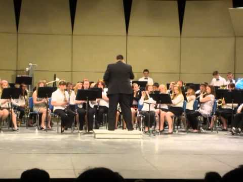 Oswego Middle School Band Concert, March 26, 2013