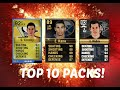 TOP 10 BEST NHL 16 PACK OPENINGS EVER! (Reactions & Sick Players)