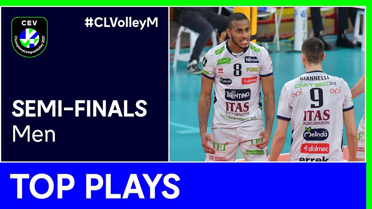 Top 5 Plays Semi-Finals - #CLVolleyM