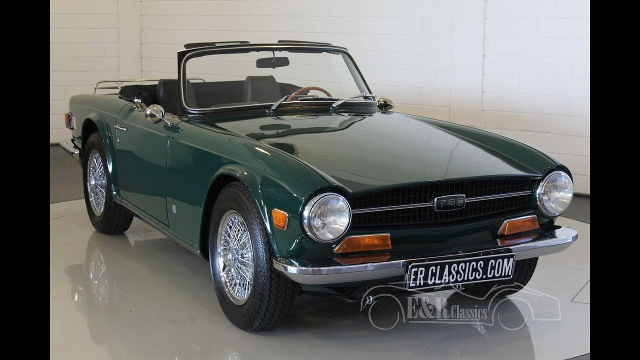 Triumph Tr6 Roadster 1971 Video Wwwerclassicscom Youtube