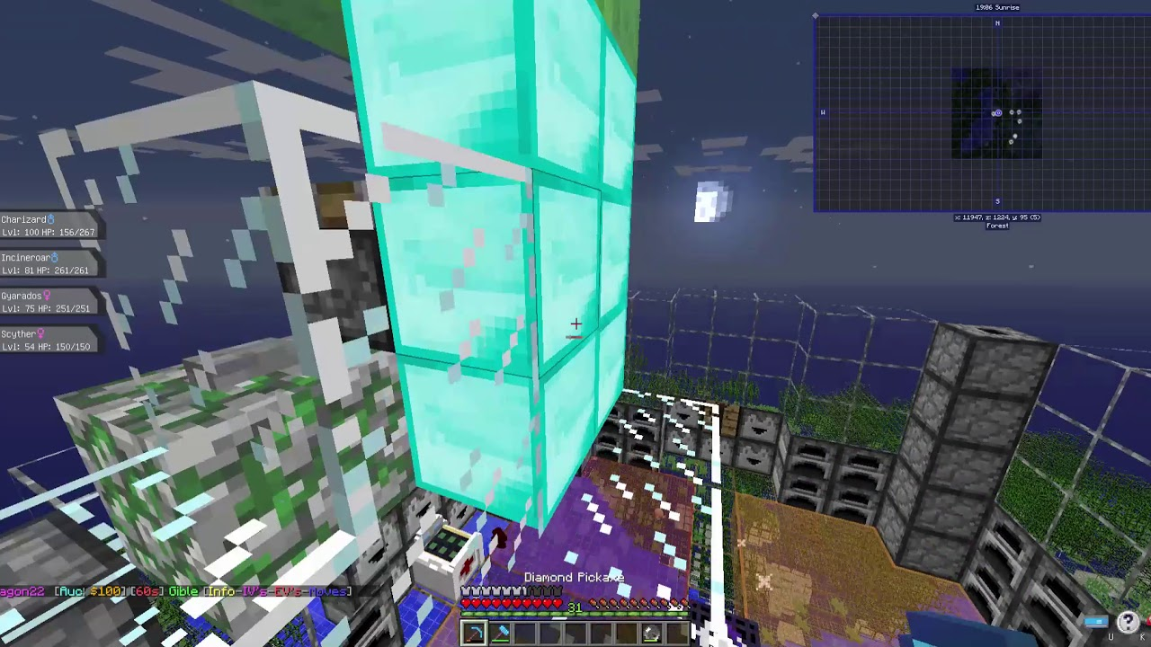 Finding a dupe glitch on Pixelmon 7 0 0