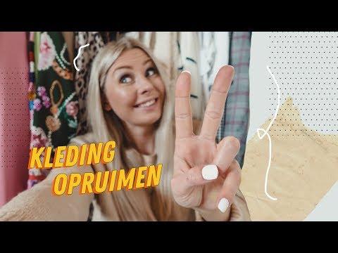 BROEKEN EN ROKJES UITZOEKEN | Kledingkast Opruimen deel 2 || Lisanne de Vries