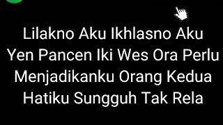Gambar cover Lirik Lagu NDX A.K.A Ft PJR - Lilakno Aku Dek.