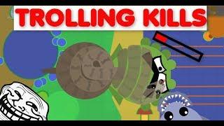 Mope.io BESTS TROLLING KILLS WITH SHARK & BOA - Mope.io Funny Moments - Trolling Kills #2