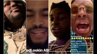 Rappers and Celebs Reacts To Broner Pacquiao Fight Tee Grizzley Dave East Kodak Black Soulja Boy