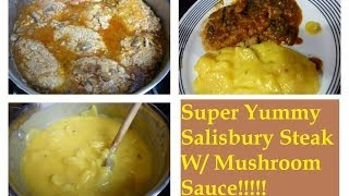 Easy & Yummy Salisbury Steak Recipe | Cooking Tutorial