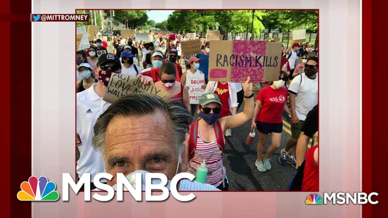 Why Mitt Romney Joined Black Lives Matter Protesters