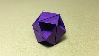 Modular Origami Tutorial / Octahedron /