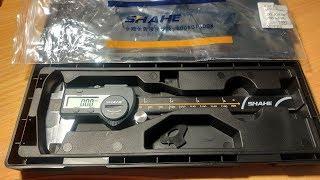 Штангенциркуль SHAHE IP54 водостойкий электронный цифровой суппорт 0-150 мм