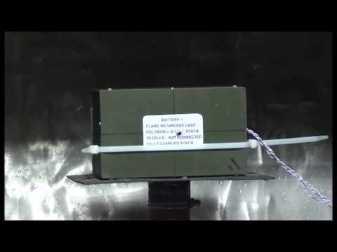 OXIS Energy Li-S Bullet Test
