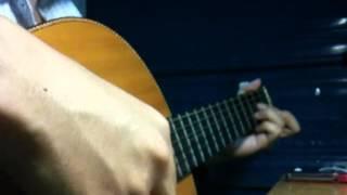 kiếp rong buồn (cover guitar-flamenohuy)