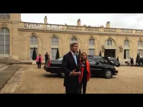John Kerry Elysee palace