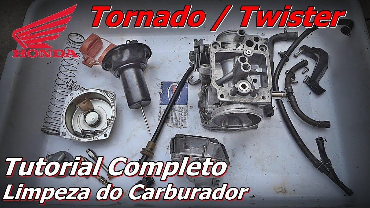 Limpeza Carburador Tornado - Limpeza Carburador Twister - Limpeza Carburador de Moto - FVM
