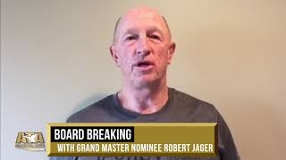 WS19 Board Breaking (Combative Set Ups for High Rank Testing) w/ GMN Robert Jager | ATA Martial Arts