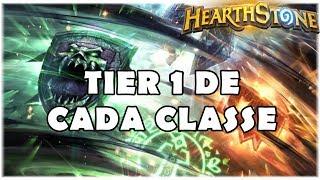 HEARTHSTONE - TIER 1 DE CADA CLASSE! (JANEIRO/2019)