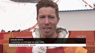 JO 2018 : Snowboard / Half-pipe - Shaun White :