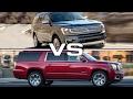 2018 Ford Expedition vs GMC Yukon XL Denali