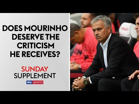 Does Jose Mourinho deserve the criticism he receives? | Sunday Supplement | Full Show