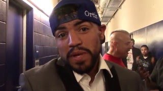 VICTOR ORTIZ TALKS ROBERT GUERRERO