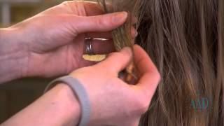 How to remove gum without cutting hair video