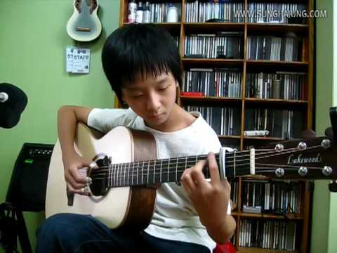 (Shun Komatsubara) Love Song - Sungha Jung
