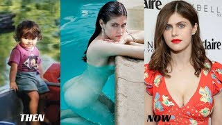 Alexandra Daddario Then and now in 2018, Rare images & Timelapse Video.