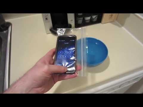 iPhone 5s Waterproof Case Alternative - ZipLoc Bag
