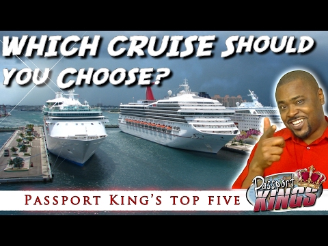 Top 5 Cruise Companies | Which cruise should I go on?: Passport Kings Travel Video