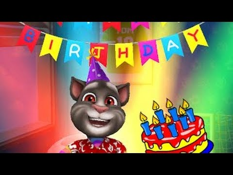 My Talking Tom Level 30 Gameplay Cat Tom Kids Personal Cares HD Birthday Igameplaydroid