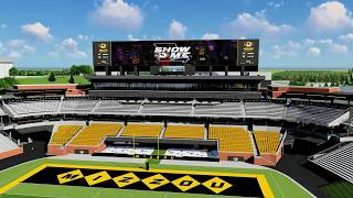 The New South Endzone at Faurot Field