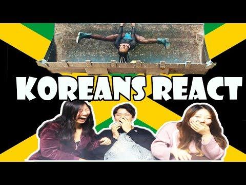 Koreans React to Jamaican Music Videos | Dancehall Edition |