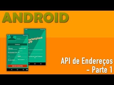API de Endereços Para Pré-Cadastro em APPs Android - Parte 1