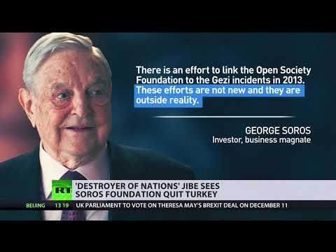 Soros Foundation set to end operations in Turkey