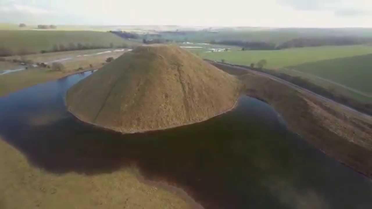 Silbury Hill en Angleterre