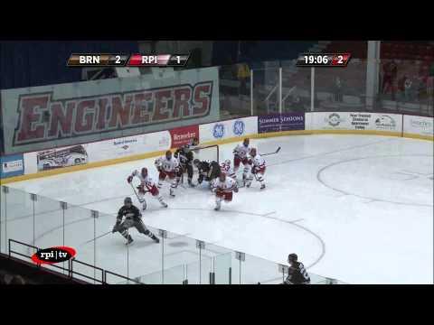 RPI TV - Men's Hockey vs. Brown - WRPI Radio