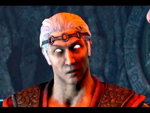 Mortal Kombat X FUJIN InGame Gameplay Scenes Official MKX