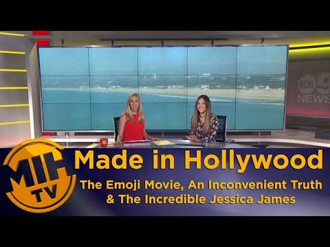 MIHTV on KCAL9 - The  Emoji Movie, An Inconvenient Sequel & The Incredible Jessica James