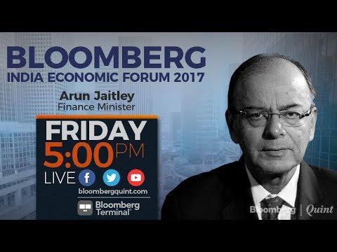 Bloomberg India Economic Forum 2017