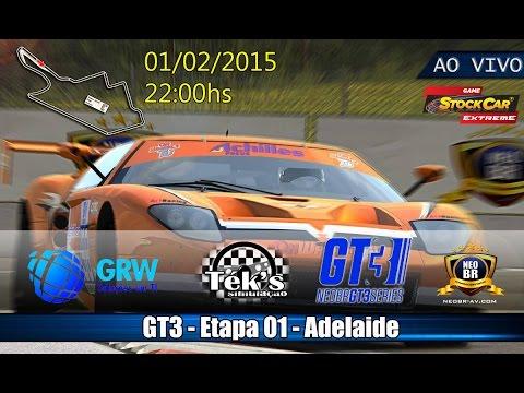 #T1/2016 - GT3 - Etapa 01 - Adelaide