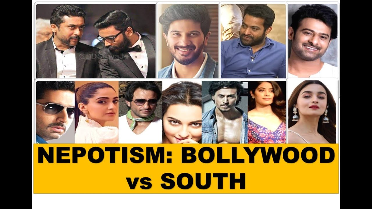 A comparison of Nepotism in Bollywood and South Industries|Why nepotism is not debated in South?