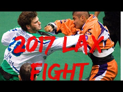 2017 NLL Fights
